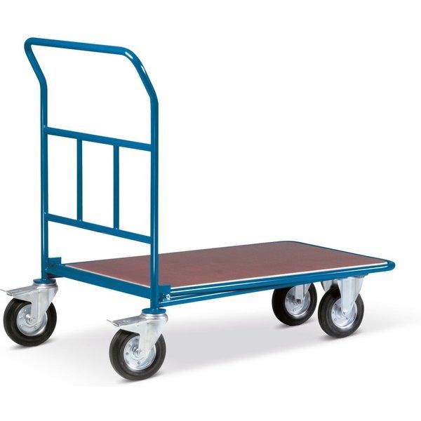 Der Cash-'n'-Carry-Wagen mit Schiebebügel – für die Einkäufe Ihrer Kunden Selbstbedienung senkt die
