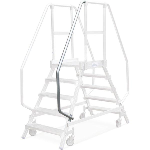Handlauf für Podesttreppe KRAUSE® aus widerstandsfähigem Aluminium   Per einfacher Selbstmontage sch