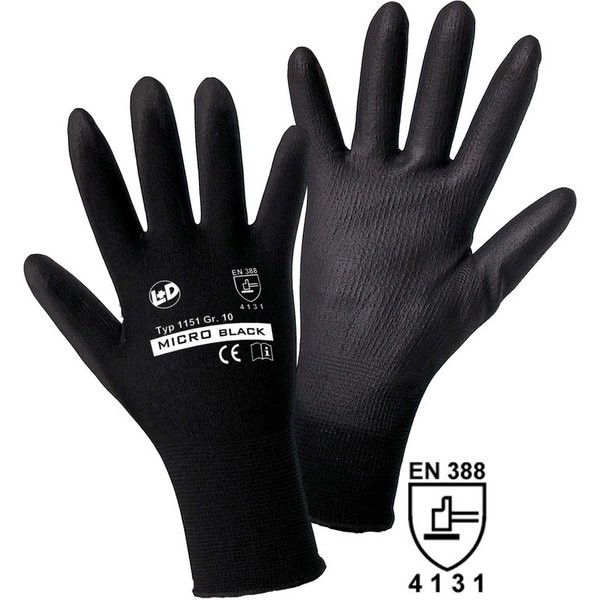 Mechanische Schutzhandschuhe Micro Black für mehr Fingerspitzengefühl Es gibt im Handwerk unzählige