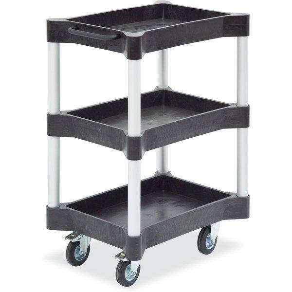 Auf mehreren Ebenen Material verwalten Dieser Mehrzweckwagen mit Wannen ist optimal für die Organisa