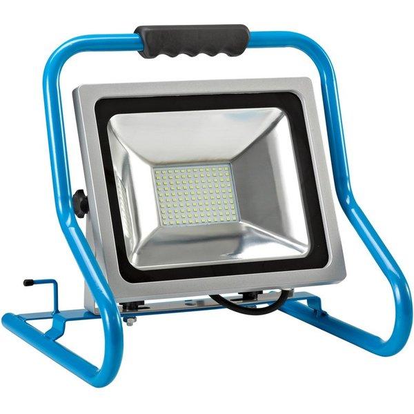 Die energiesparende Alternative zum Halogenstrahler Der Mobile LED-Strahler ist die moderne Variante
