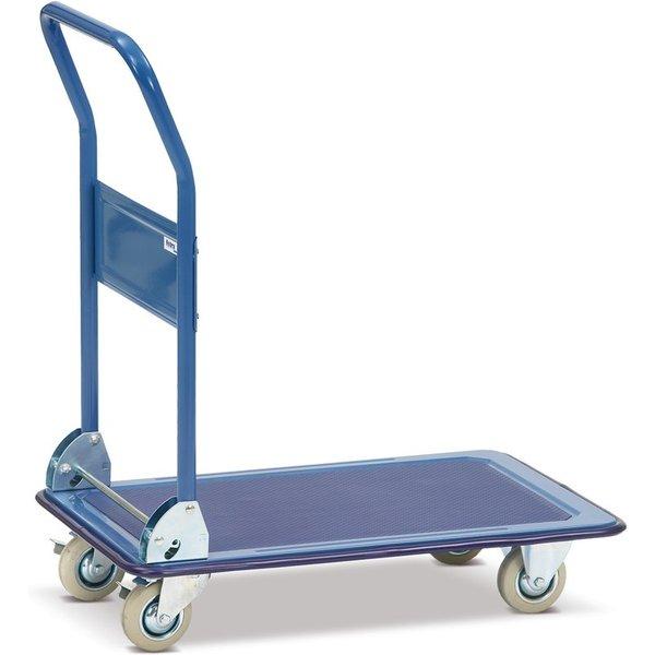 Mobiler Allrounder: der leichte Plattformwagen fetra® mit Stahl-Plattform Ob im Lager, bei Kommissio