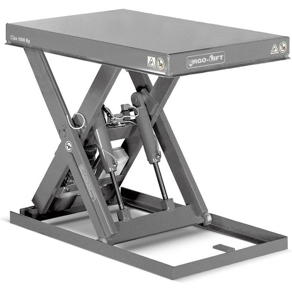 Scheren-Hubtisch ERGO-LIFT Ein Scheren-Hubtisch hilft Ihnen beim Heben schwerer Lasten. Dieser Hubti