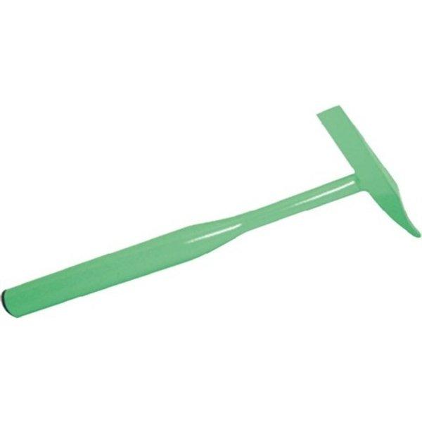 Ganzstahl aus breitem Ovalrohr   Spitzen geschliffen und gehärtet   grün   Weitere technische Eigens