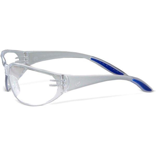 Beschlagfreie und kratzfeste Brillen für eine klare Sicht Die Schutz-Bügelbrille Style Crystal ist i