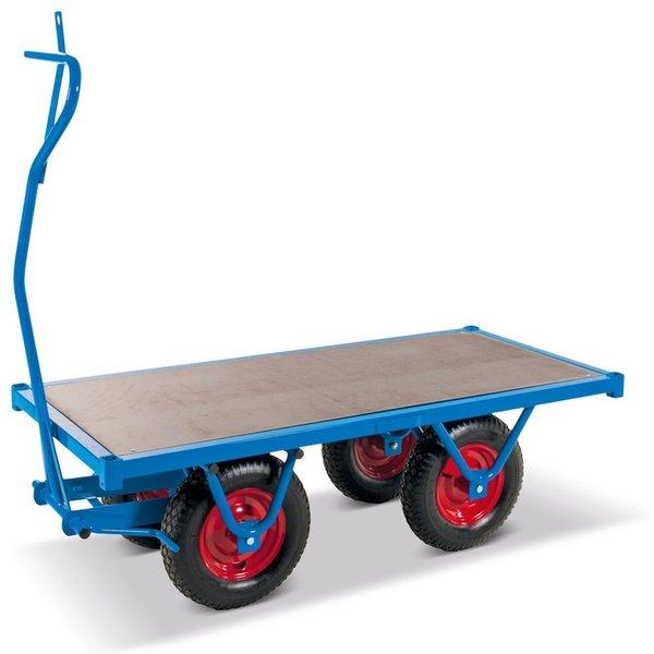 Der schwere Handpritschenwagen mit planer Ladefläche nimmt Ihnen Arbeit ab Eine wirkungsvolle Lösung