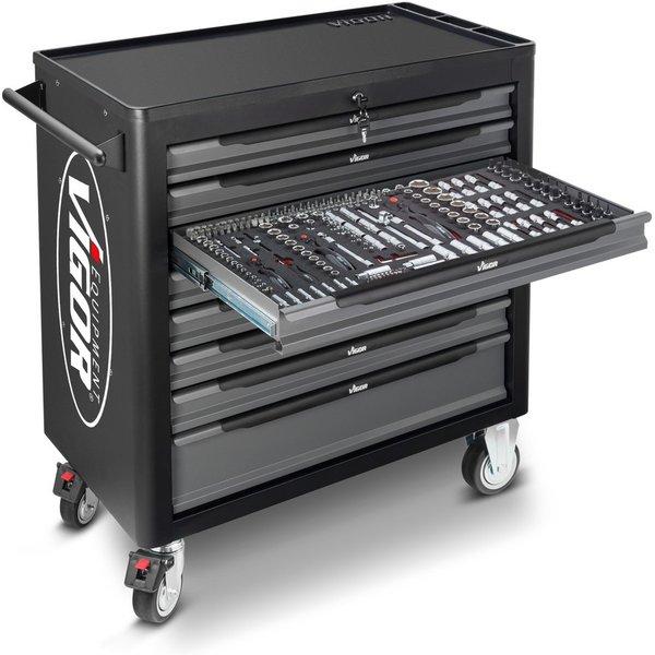 Das robuste Allroundtalent zum Verstauen von Werkzeug und Material Mit dem Werkzeugwagen VIGOR® 1000