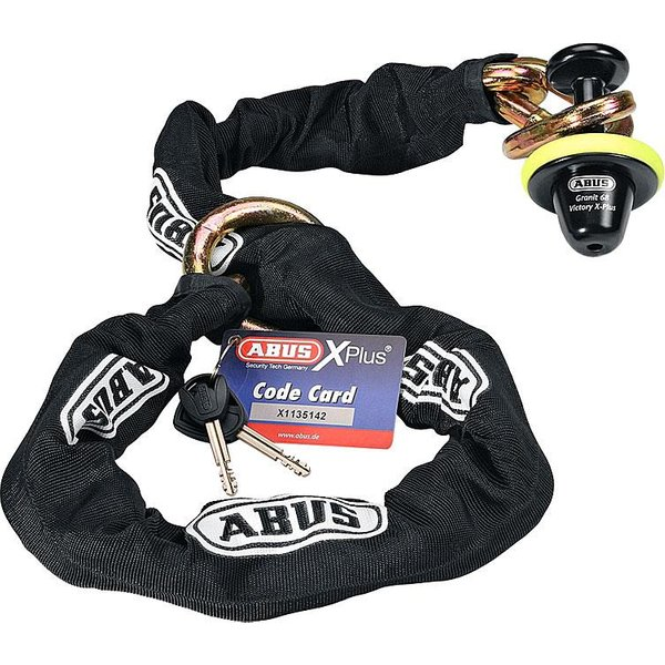 ABUS 68/12KS120 black-Loop (44743 3)