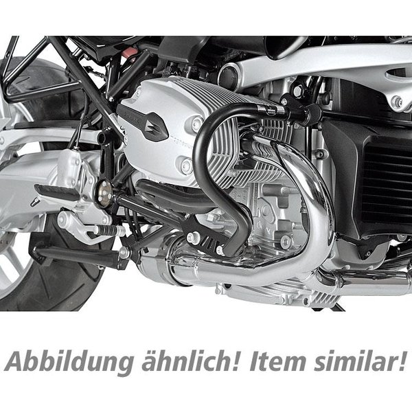 H&B Sturzbügel für Tank DL 1000 V-Strom 2014-2016 schwarz