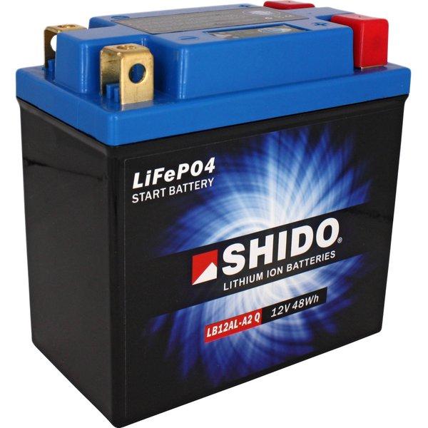 Shido Lithium Batterie LB12AL-A2 Q (YB10L-A2/YB10L-B2/YB12A-