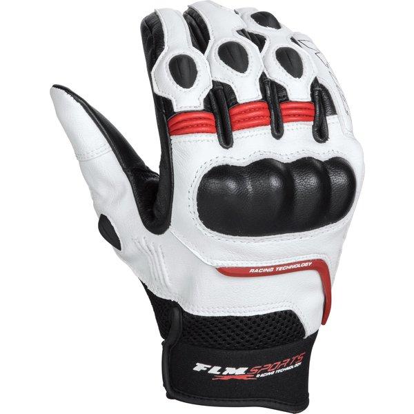 FLM Sports Lederhandschuh 5.0 rot Herren Größe 9