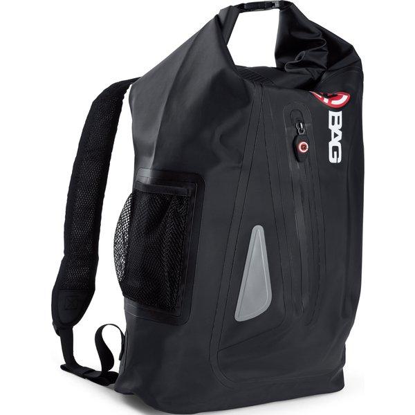 QBag Rucksack 15 wasserdicht bis zu 30 Liter schwarz