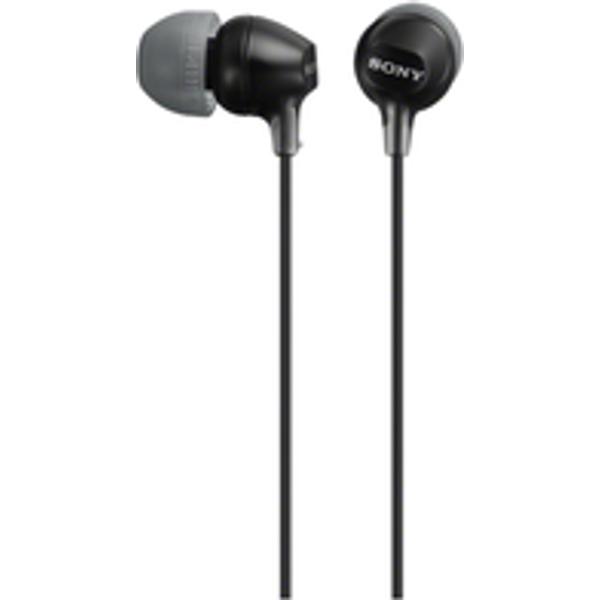 Sony MDREX15AP InEar Headphones Black
