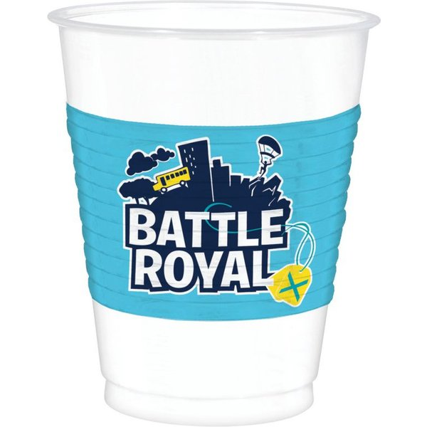 8 mega gobelets Battle Royal 47cl