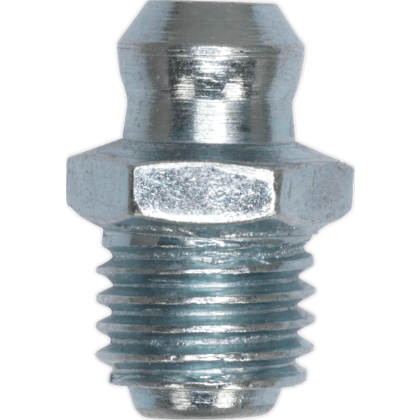 Sealey Grease Nipple Straight M8 X 1.25mm Pack of 25