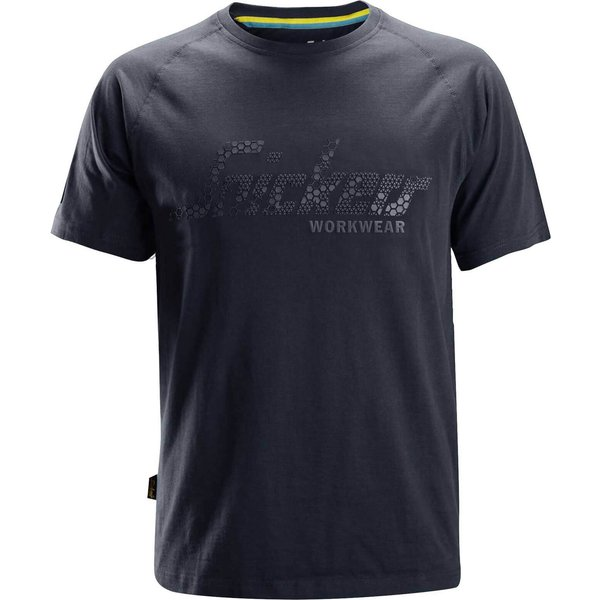 Snickers Mens Logo T-shirt Navy L (25809500006)