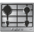 CANDY CPG64SPX Gas Hob - Stainless steel, Stainless Steel
