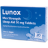 Lunox Max Strength Sleep Aid Tablets