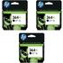 3x HP 364XL ( CN684EE / CB321EE ) Original Black High Capacity Ink Cartridge *20 Cashback*