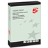 5 Star A4 80gsm Green Coloured Office Copier Paper (500 Sheets)