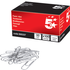 5 Star Large (33mm) Plain Metal Paperclips (100 Pack)