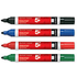 5 Star Office Assorted 2.0mm Bullet Tip Flipchart Markers (4 Pack)