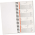5 Star Wirebound Telephone Message Book 320 Notes (279mm x 152mm)