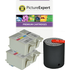 Advent ABK10 / ACLR10 Compatible Black x2 & Colour x2 Ink Cartridge + BLUETOOTH SPEAKER