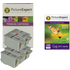 Advent ABK10 / ACLR10 Compatible Black x3 & Colour x2 Ink Cartridge & Photo Paper Pack