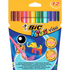 Bic Kids Visa Assorted Washable Fine Tip Felt Tip Pens (12 Pack)
