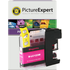Brother LC-123M Compatible Magenta Ink Cartridge