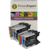 Brother LC1240 Compatible Black & Colour 8 Ink Cartridge Pack