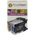 Brother LC1240 Compatible Black & Colour 4 Ink Cartridge Pack