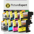 Brother LC127XL & LC125XL Compatible High Capacity Ink Cartridge 8 Pack