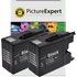 Brother LC1280XL-BK Compatible High Capacity Black Ink Cartridge TWINPACK