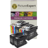Brother LC1280XL Compatible Black & Colour Ink Cartridge 10 Pack