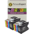 Brother LC1280XL Compatible High Capacity Black & Colour 8 Ink Cartridge Pack
