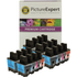 Brother LC900 Bk/C/M/Y Compatible Black & Colour 20 Ink Cartridge Pack
