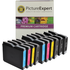 Brother LC970 Compatible Black & Colour Ink Cartridge 10 Pack