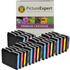 Brother LC970 Bk/C/M/Y Compatible Black & Colour 20 Ink Cartridge Pack