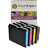 Brother LC970 Bk/C/M/Y Compatible Black & Colour 4 Ink Cartridge Pack