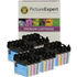 Brother LC980 Bk/C/M/Y Compatible Black & Colour 20 Ink Cartridge Pack