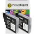 Brother LC985BK Compatible Black Ink Cartridge TWINPACK