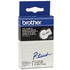 Brother TC-201 Original P-Touch Black on White Tape 12mm x 7,7m