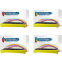 Brother TN-2010 Compatible Black Toner Cartridge QUADPACK