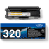 Brother TN-320BK Original Black Toner Cartridge