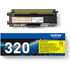 Brother TN-320Y Original Yellow Toner Cartridge