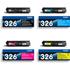 Brother TN-326BK/C/M/Y Original High Capacity Black & Colour Toner Cartridge 4 Pack