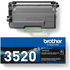 Brother TN-3520 Original Black Toner Cartridge