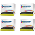 Brother TN-7600 Compatible Black Toner Cartridge QUADPACK